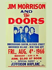 "The Doors New York City 16"" x 12"" Photo Repro Concert Poster"