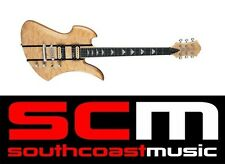 BC Rich Exotic Wood Classic Mockingbird Electric Guitar Natural Neck Thru