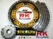 2014-2017 Yamaha FZ-09 RK GXW Natural 530 SuperSprox OEM Chain and Sprocket Kit