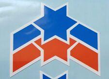 Raleigh GRIFTER MK2 mudguard Star/Stripe decal/sticker