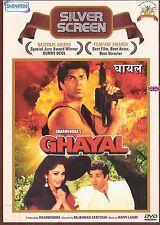 GHAYAL - SUNNY DEOL - RAJ BABBAR - SUPER HIT BOLLYWOOD FILM DVD