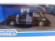 No.1 Renault 5 Turbo 2 Black Universal Hobbies 1/18
