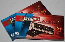 Jacques Cranberry & Sinaasappel-Orange 2x200g belgische Schokolade Belgien