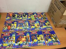 12 x COMPLETE COLLECTION CAPTAIN PLANET Planeteer + SHIPPING BOX KENNER 1991