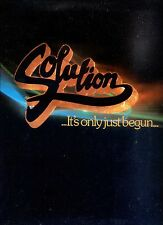 SOLUTION it's only just begun HOLLAND 1980 EX LP