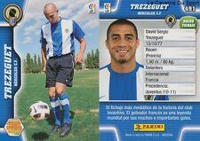 N°491 TREZEGUET # FRANCE HERCULES.CF JUVENTUS MEGACRACKS CARD PANINI LIGA 2011