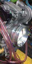 Suzuki LTZ 400 LTZ400 / Keihin FCR MX Cabruretor Adapter / K&N Velocity Stack