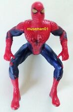 2012 AMAZING SPIDER-MAN FIGURE ~ Dark Blue & Red Suit ~ Fully Poseable ~ @LOOK@