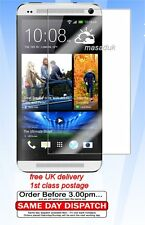 LCD Screen Protector For M7 HTC one FILM ultra clear 1st class Royal mail