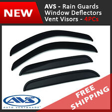 AVS Vent Visors Window Deflectors Rain Guards for 2002-2009 Chevy Trailblazer