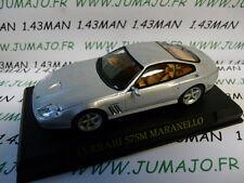voiture 1/43 IXO altaya FERRARI  : 575 M Maranello grise