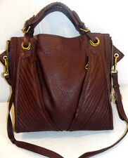 NEW orYANY Erin Lamb Leather Tote ESPRESSO MSRP $477