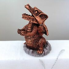 NEW BRONZE SMOKE BLOWING DRAGON INCENSE CONE HOLDER ASH CATCHER
