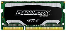 New Crucial Ballistix Sport 4GB DDR3 1866 MHz PC3-14900 Sodimm Laptop Memory RAM