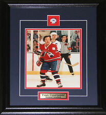 Yvan Cournoyer Montreal Canadiens 8x10 frame