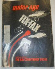 Motor Age Magazine Fix Fax & The Air Conditioner Boom April 1968 020415R