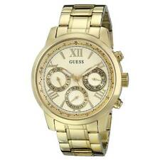 Guess U0330L1 Women's Yellow Gold Steel Bracelet Gold Dial Watch
