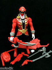 "Power Rangers Armoured Series 7"" Action Figure SUPER MEGA FORCE RED RANGER"