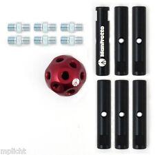 Manfrotto msy0580a DADO KIT con 6 TUBI palla fissaggio universale Super Clamp