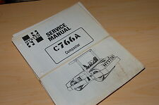 HYSTER c766a Roller Compactor Repair Shop Service Manual book overhaul 1988 used