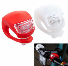 2 Taillight for Cycling Safety Front and Rear Silicone LED Bike Light Set