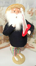 Byers Choice Beach Santa with Sail Boat Spring Open House 2013 Signed Joyce  *