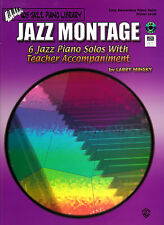 JAZZ MONTAGE PIANO MUSIC BOOK WITH CD AND MIDI DISK