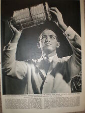 Photo article medical scientist Dr Jonas E Salk searching for polo vaccine 1956