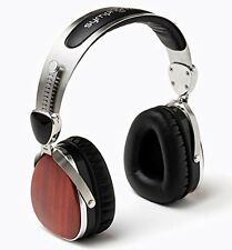 Symphonized Wraith Premium Genuine Wood Headphones (Cherry)