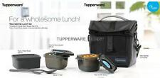 Tupperware New Satchel Lunch Set - Black edition - Lunch Set