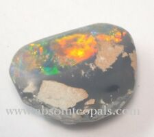 LIGHTNING RIDGE STONE GEM OPAL SOLID ROUGH POLISHED SPECIMEN 8.85ct