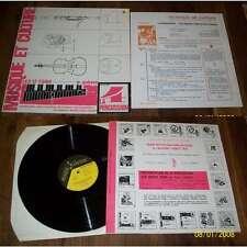 LES PERCUSSIONS DE STRASBOURG - Les 12 Tons Pierre Gabaye LP Avant Garde W/Inser