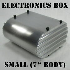 Motorcycle Electronics Box Holder Tray Aluminum Chopper Bobber Cafe Racer Harley