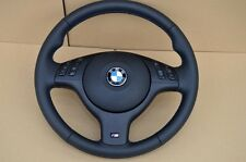 M3 M5 BMW E46 E39 X5 E53 M3 M5 Steering Wheel M stitching NAPPA  complete
