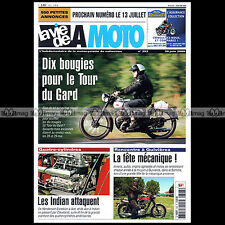LA VIE DE LA MOTO LVM N°393 WILLIAM HENDERSON FOUR ACE INDIAN 4 ★ RALLYE SOLEX