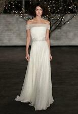 AUTHENTIC Jenny Packham Stella JPB538 Ivory NEW Wedding Dress 10 RETURN POLICY