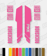RockShox Pike 2013 Style Decals / Stickers - Custom / Fluorescent Colours