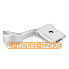 Thumb Up Grip Silver for Fujifilm X100 X10 X-pro Olumpus OM-D EM-5 PEN E-P3 E-P2