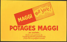 POTAGES MAGGI BUVARD BLOTTING PAPER
