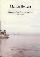 00315 Noten Duo Sopran-Sax und Cello Lateinamerika Marlon Herrera