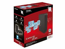Toshiba Canvio HDWC240EK3J1 4TB External Desktop Hard Drive (4 TB, USB 3.0) NEW