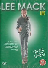 LEE MACK - LIVE. Filmed During His Nationwide Sell Out Tour (NEW/SEALED DVD '07)