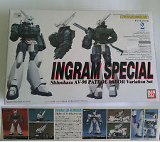Bandai Patlabor 1/60 Ingram Special Shinohara AV 98 Variation Set model kit