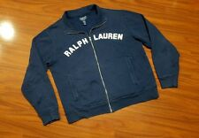 POLO Jeans Ralph Lauren Spell Out Sweater Jacket Full Zip Up men's Large LoLife