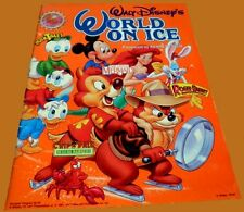 1991 Disney World On Ice Skating Program VG+ - The Little Mermaid & More!