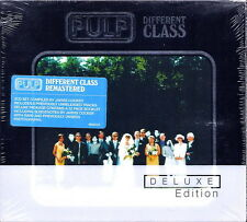 PULP - Different Class (Remaster DeLuxe Edition) Box 2 CD + Booklet 32 pag. RARE