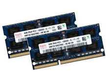 Hynix 2x 4gb 8gb Notebook Ram ddr3 1333 MHz pc3-10600s in modo DIMM pc10600 204pin