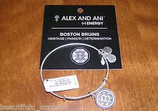 ALEX and ANI * RARE * Silver B * BOSTON BRUINS Bracelet NEW TAGS CARD Authentic