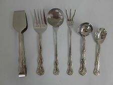 Reed & Barton 18/10 Stainless Steel VICTORIA 6 Serving Pieces Hostess Set