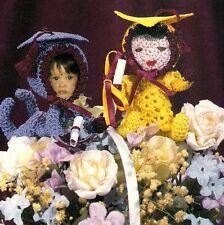 ADORABLE Graduation Babies/Decor/Crochet Pattern INSTRUCTIONS ONLY
